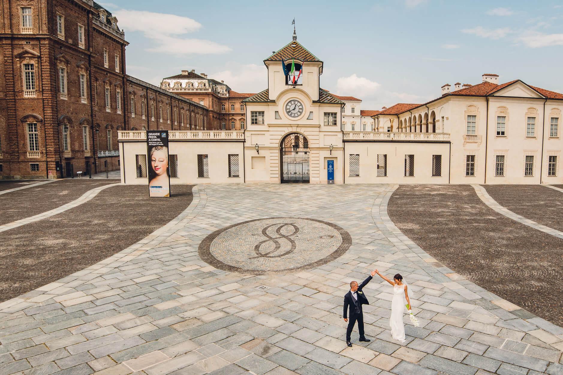 fotografo matrimonio reggia di venaria