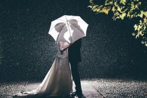 Matrimonio con la pioggia La Cascinetta