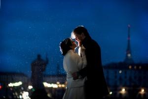 Matrimonio con la pioggia Gran Madre