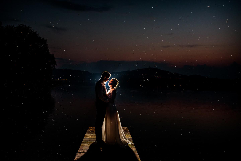 Matrimonio zanzare lago di candia