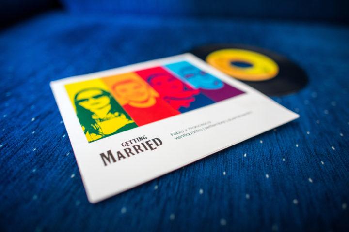 Partecipazioni Matrimonio Anni 80.Partecipazioni Di Nozze In Vinile Che Idea Joyphotographers