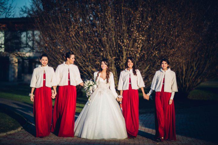Matrimonio In Dicembre : Idee per un matrimonio in rosso il colore dell amore