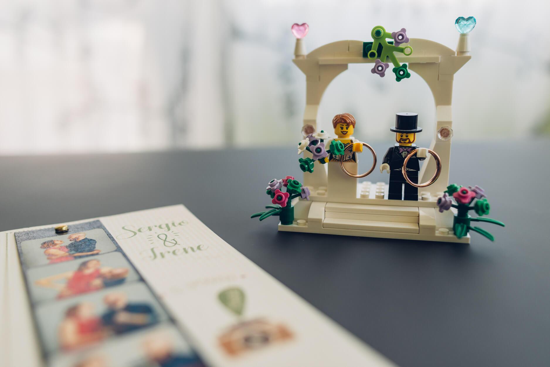 portafedi sposi lego