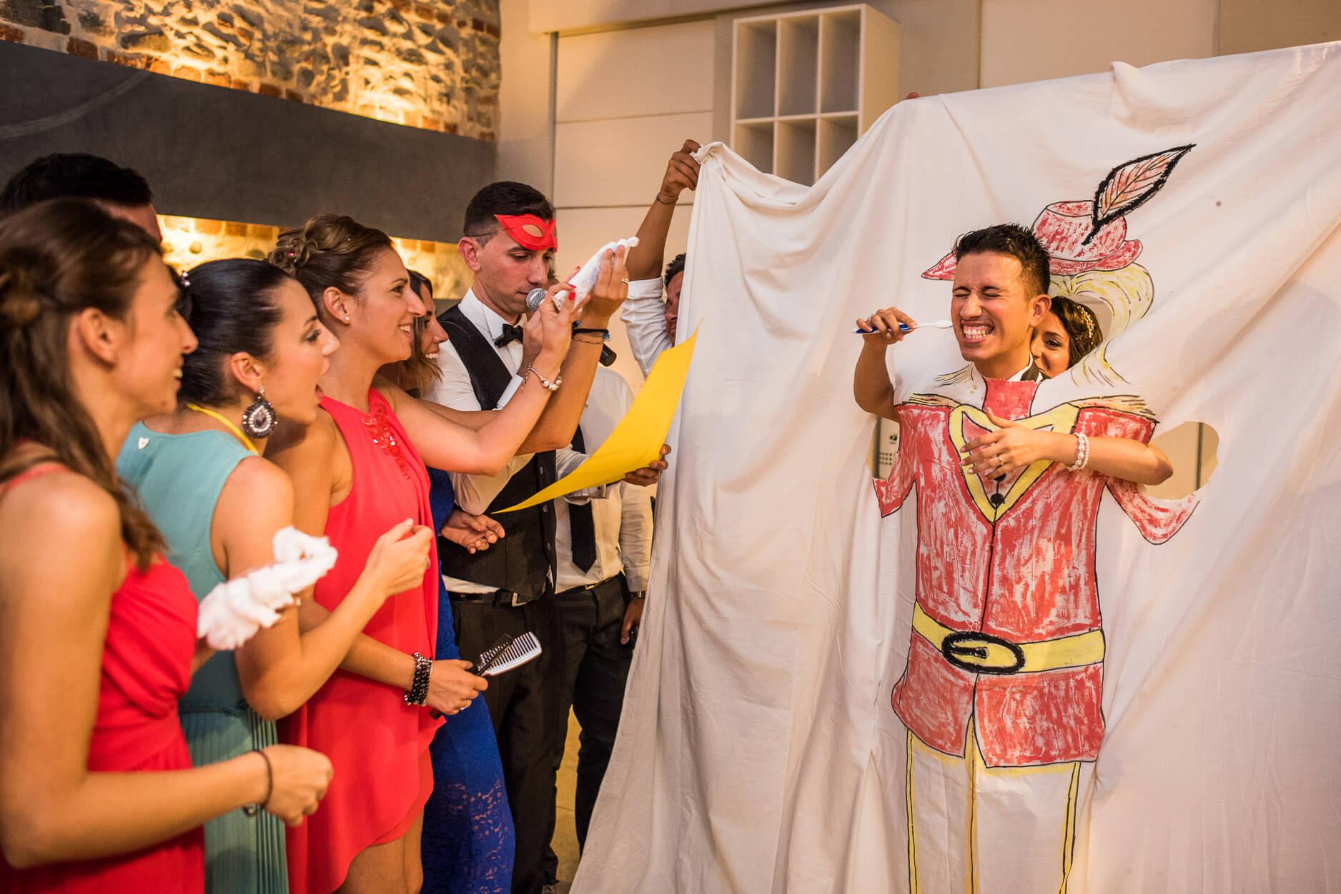 15 idee di scherzi per matrimonio divertenti e originali for Idee originali per testimoni di nozze