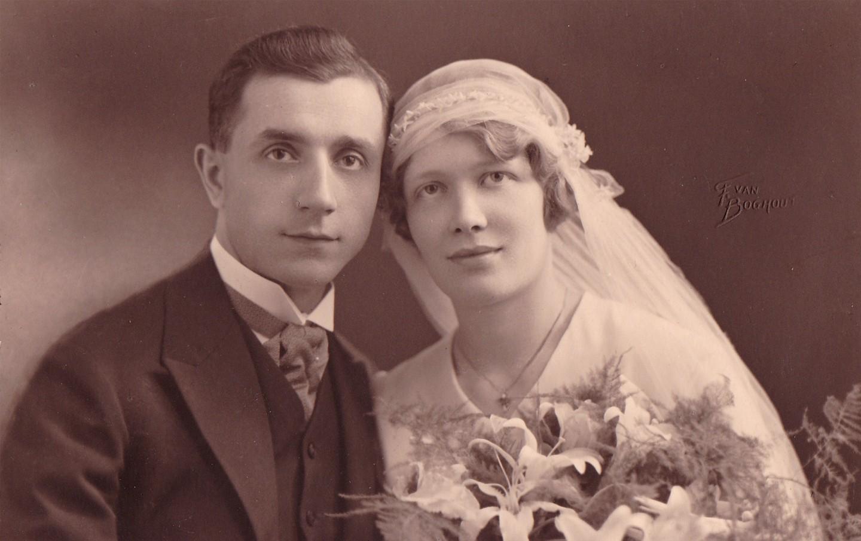 foto vintage sposi