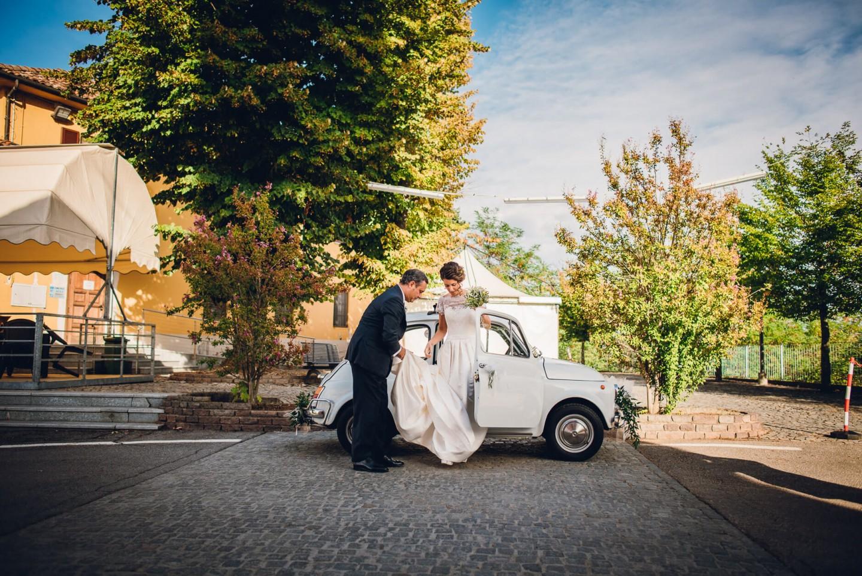 auto sposa ingresso chiesa