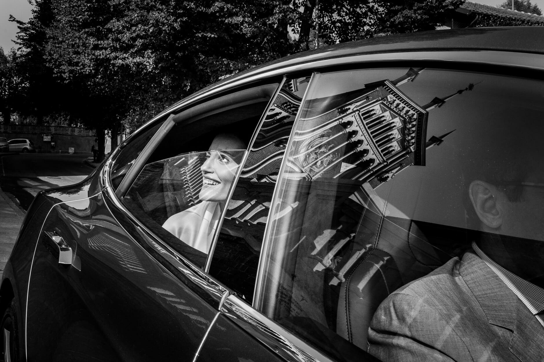 arriva la sposa auto