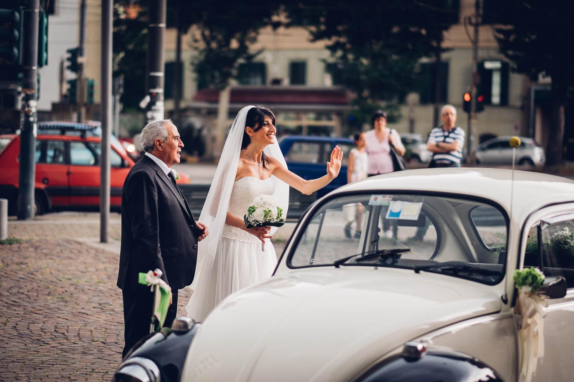 auto sposa maggiolone