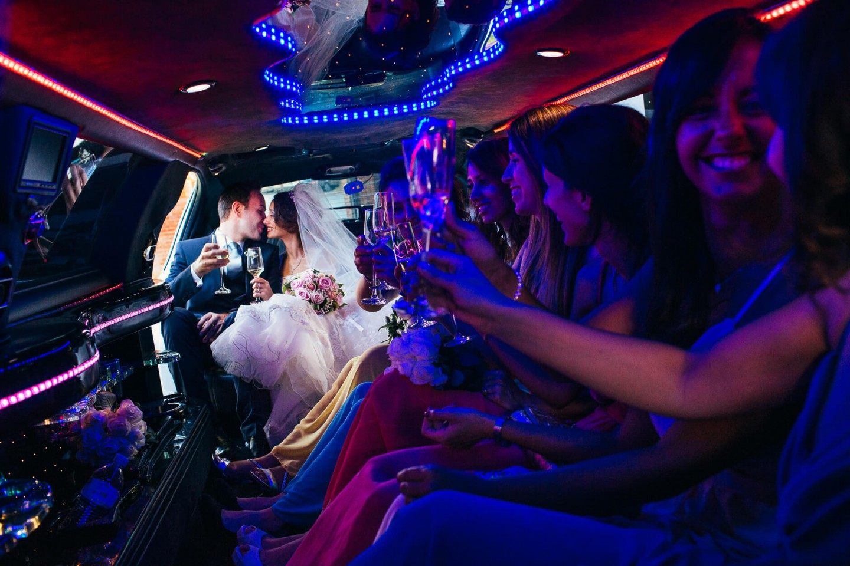 auto matrimonio limousine