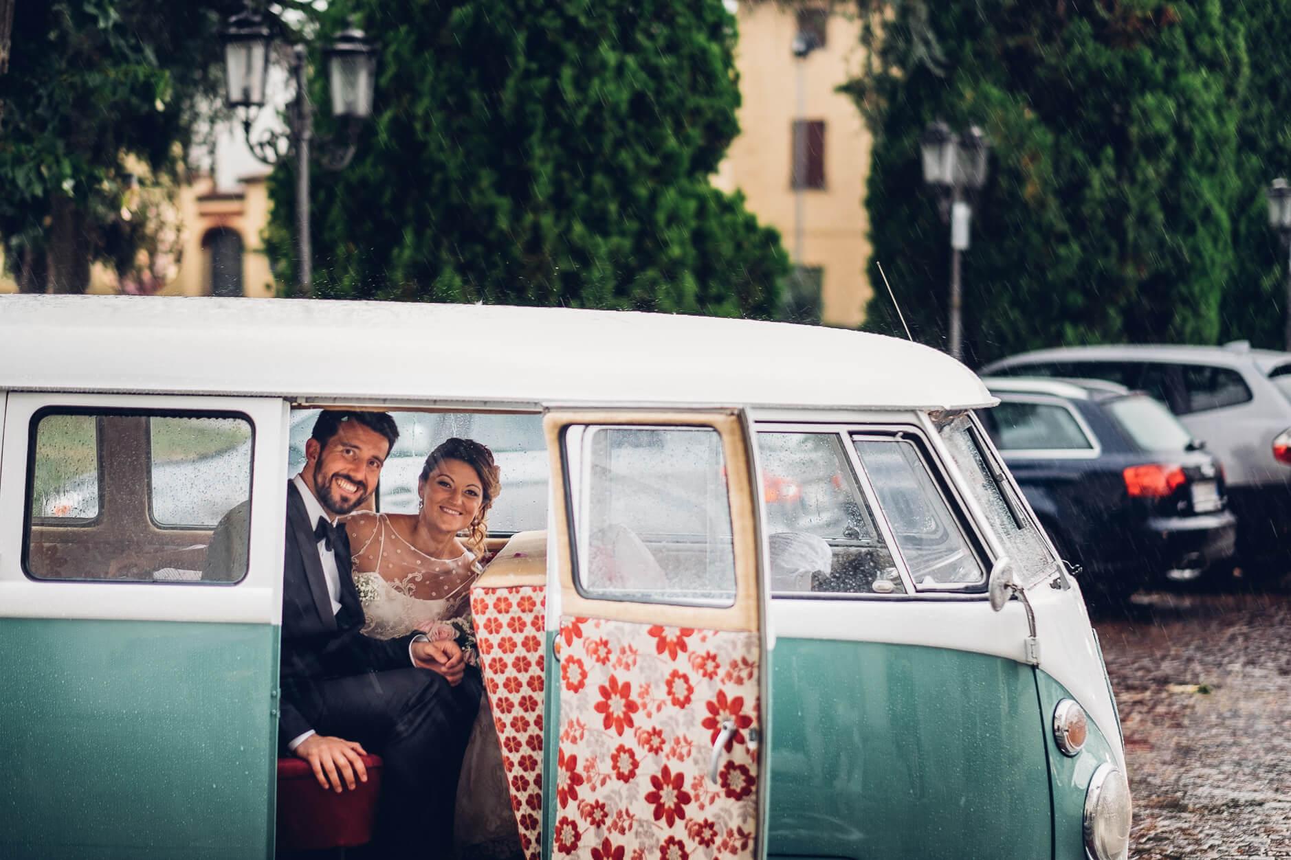 matrimonio hippy vintage