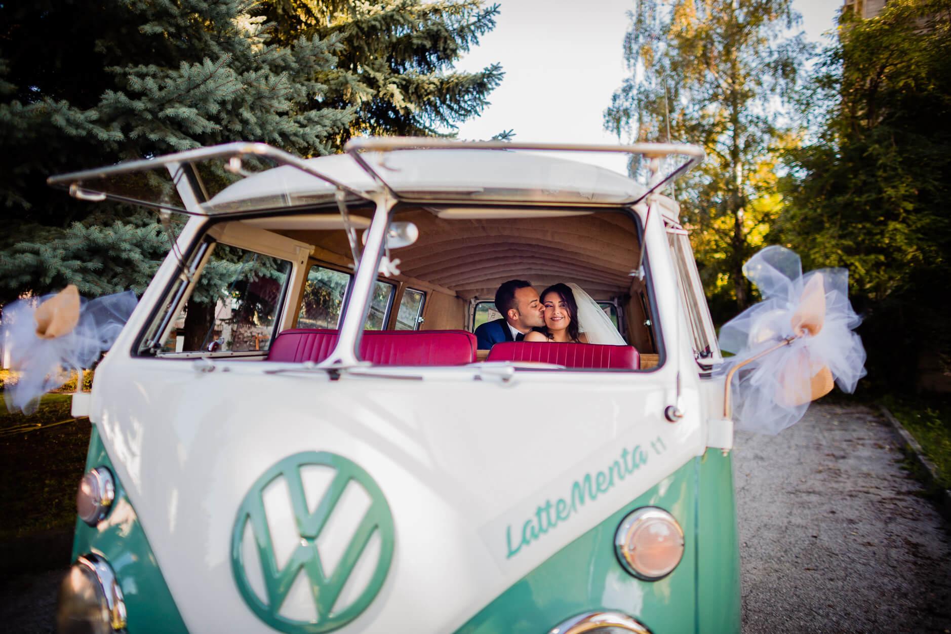 noleggio pulmino matrimonio volkswagen