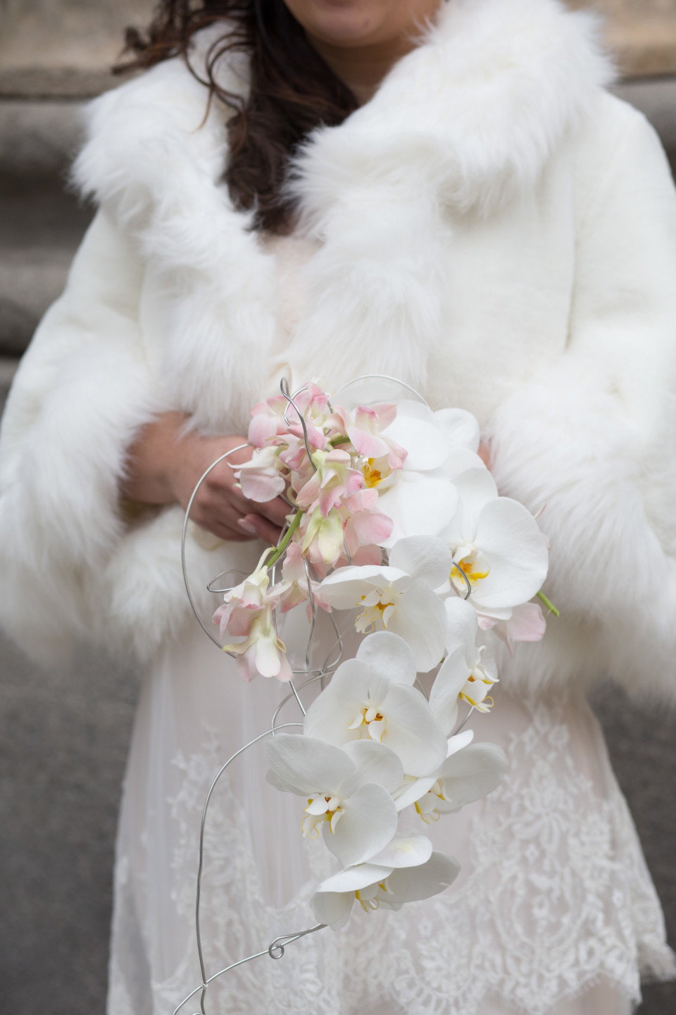 bouquet orchidee sposa