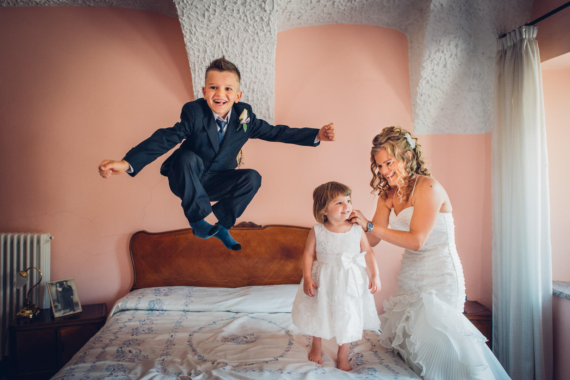 viaggio di nozze con bambini