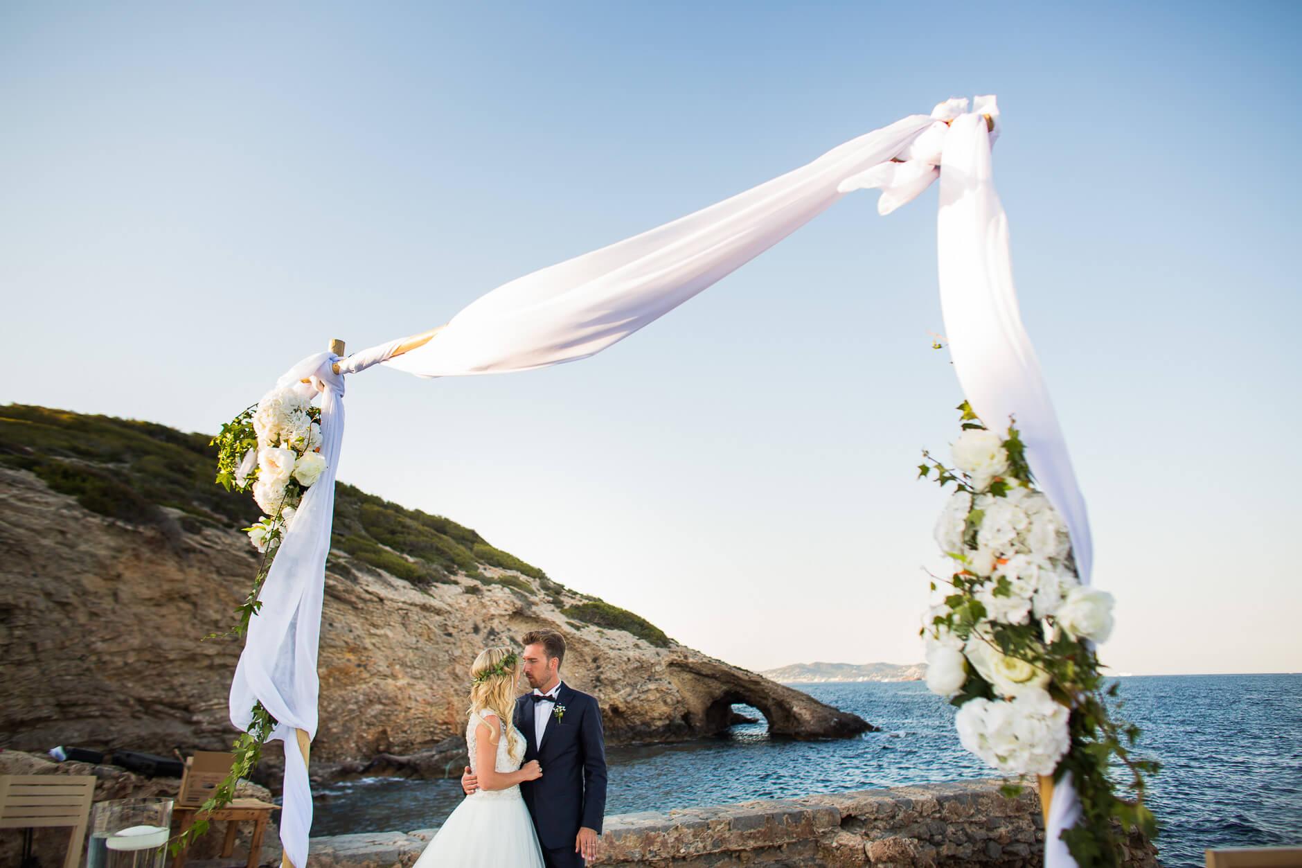 matrimonio in spiaggia ibiza