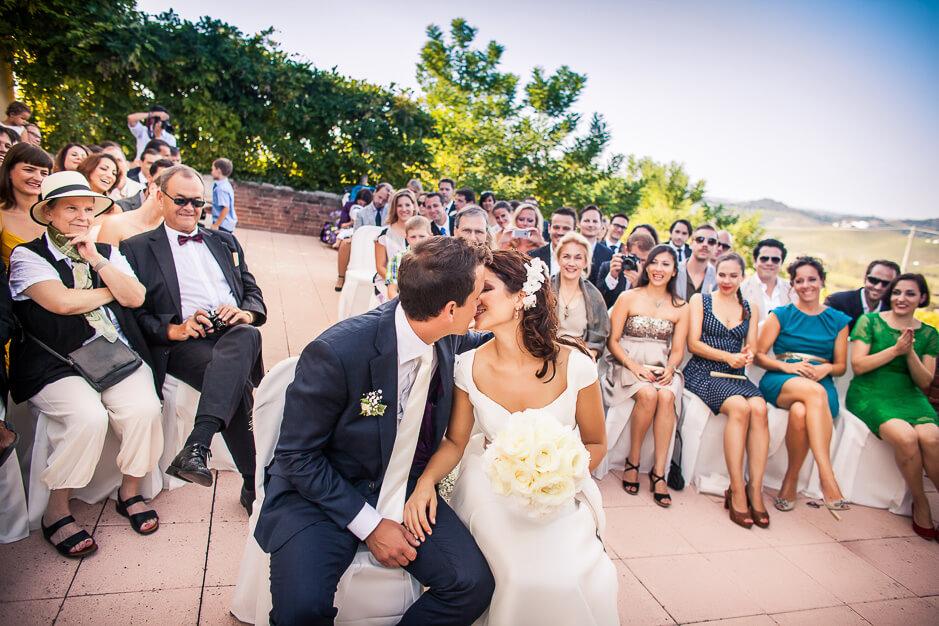 Matrimonio in location La Villa