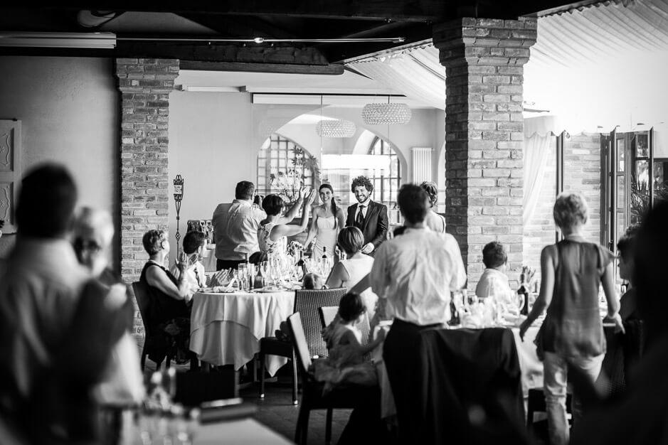 Ricevimento di matrimonio al ristorante Vecchio Castagno, Cocconato