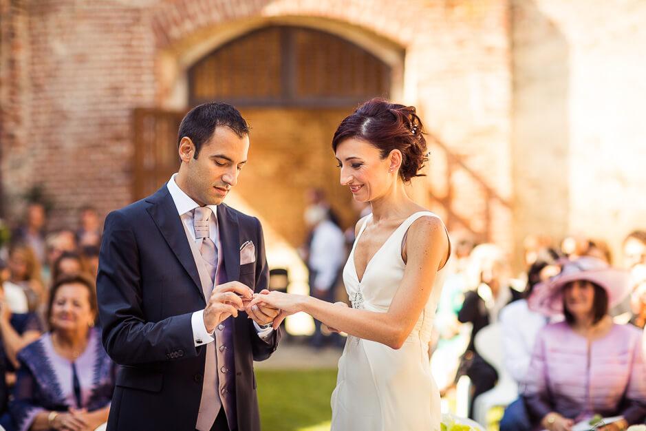 Cerimonia nozze Castello Avogadro