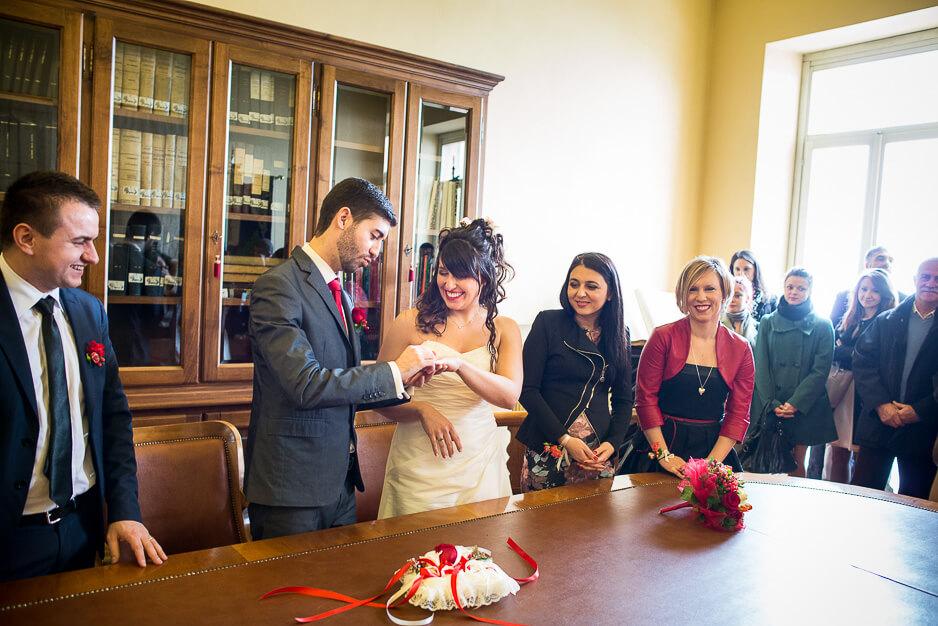 Cerimonia matrimonio Montemagno Asti