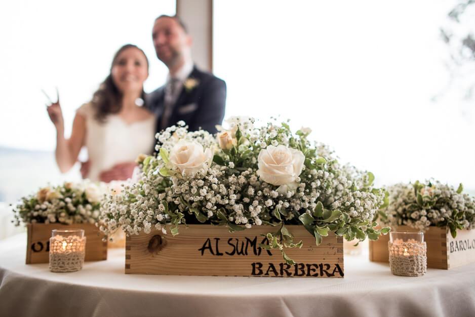 Ricevimento matrimonio Langhe