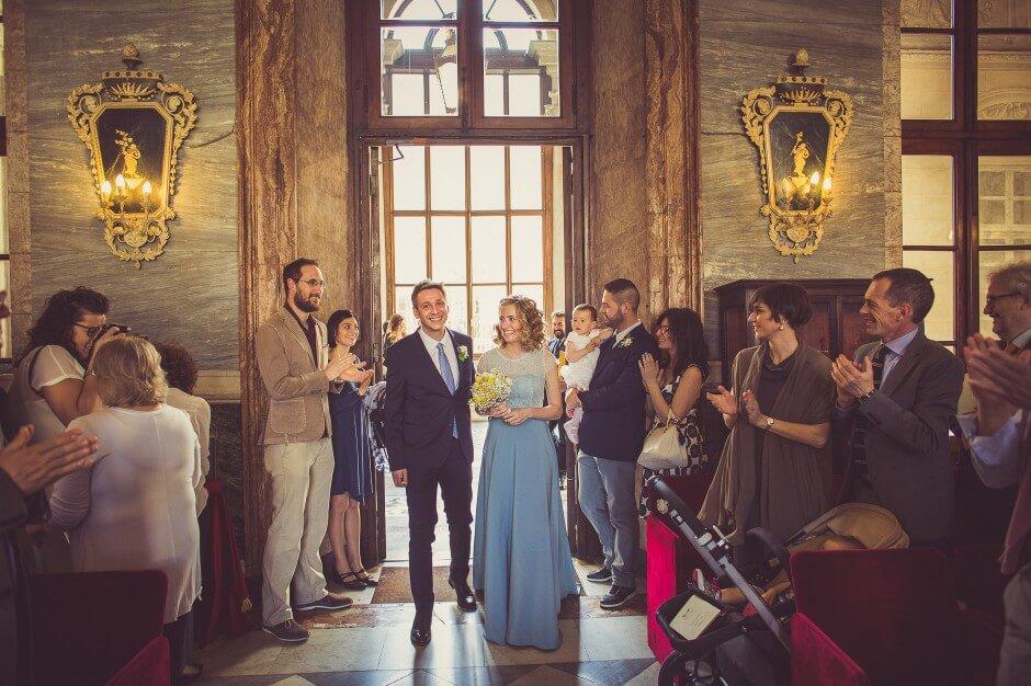 Matrimonio civile Sala Marmi