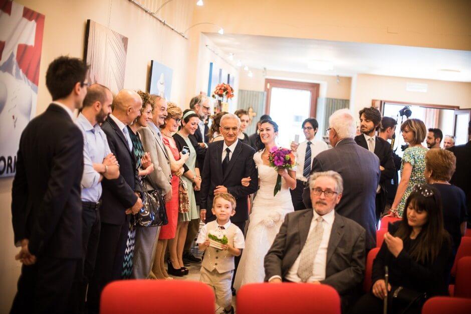 Cerimonia di matrimonio Pollenzo