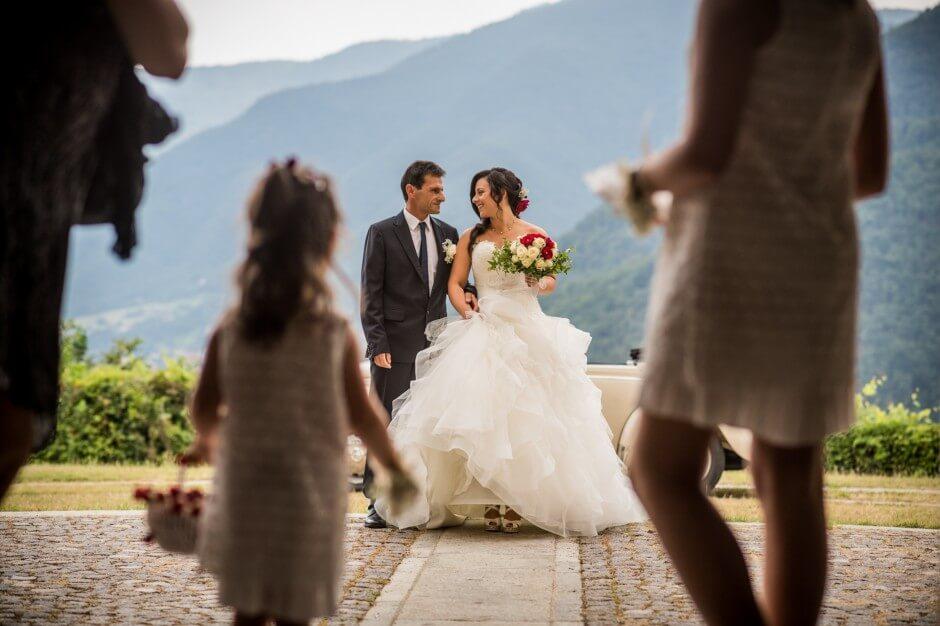 Cerimonia nozze Villar Perosa