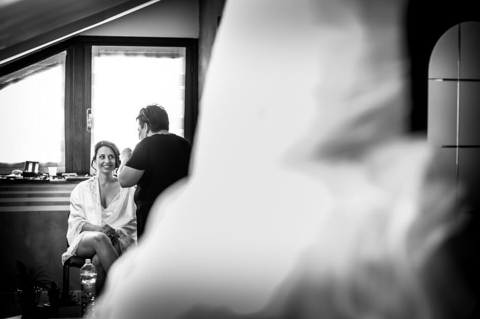 Fotografia matrimonio preparazioni