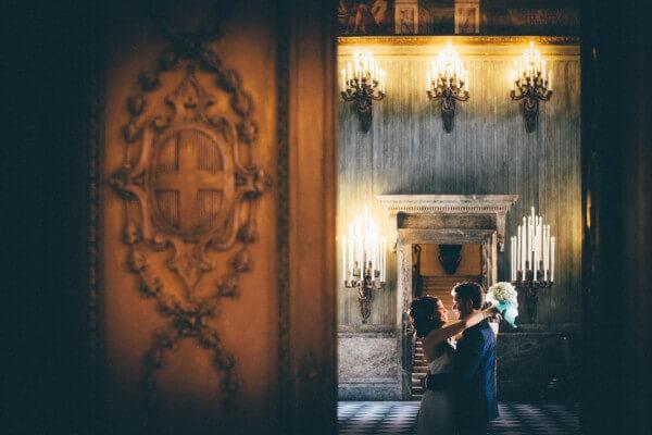 Fotografo matrimonio Villa Bria