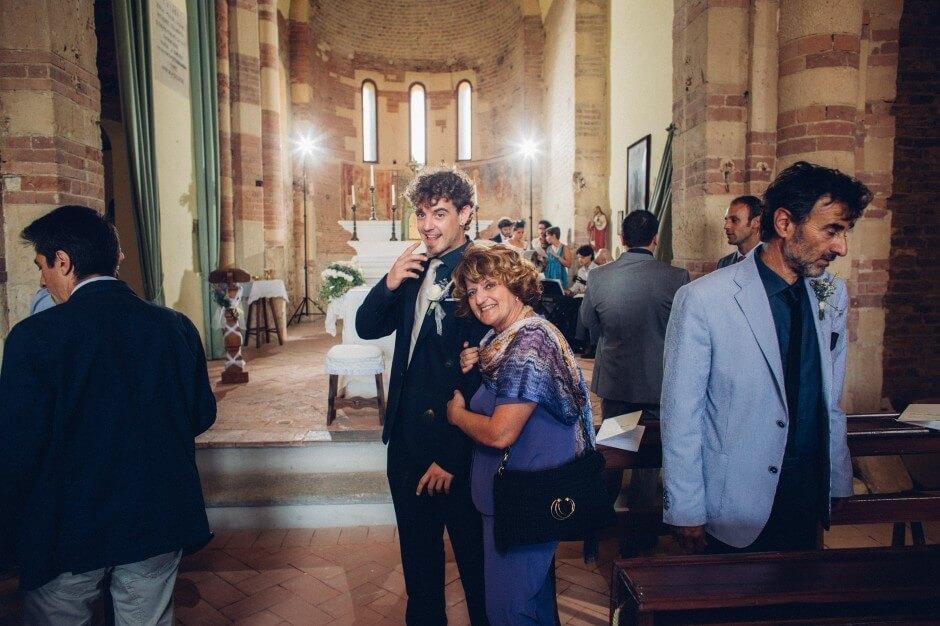 Foto cerimonia di nozze