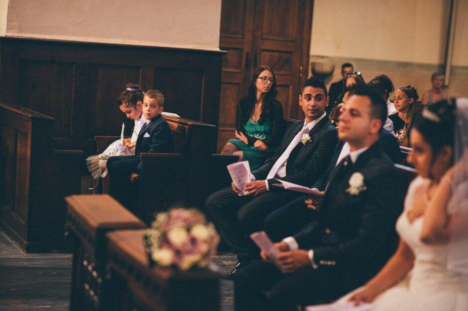 Cerimonia di nozze cattedrale di Aosta