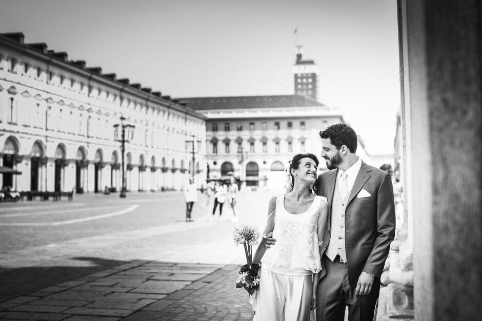 Foto Matrimonio Piazza San Carlo