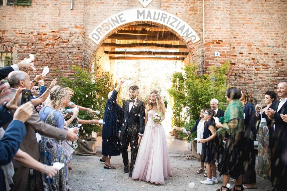 Matrimonio Podere Mauriziano Stupinigi