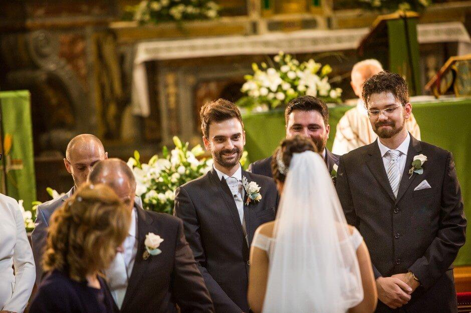 Cerimonia matrimonio Barge