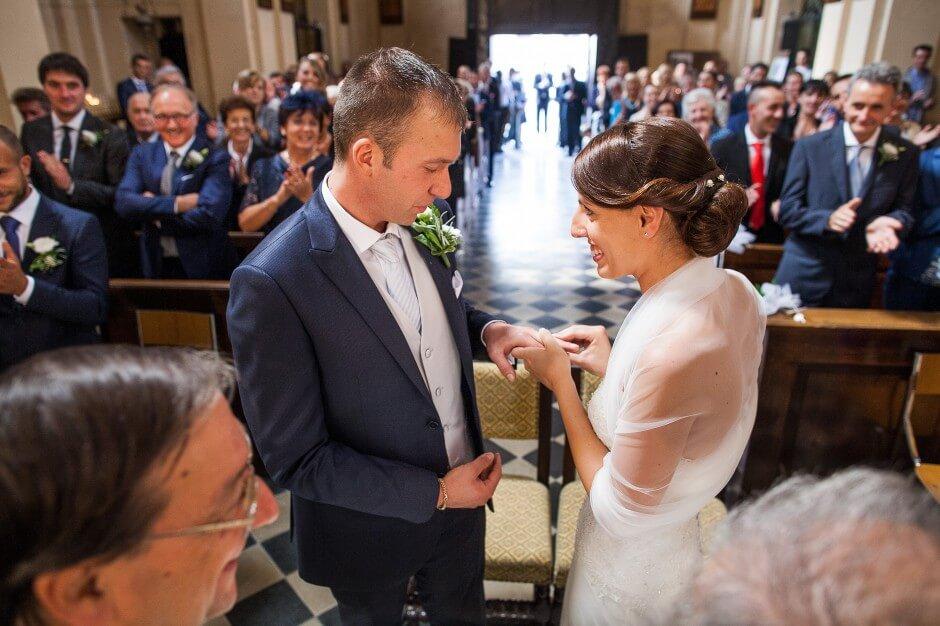 Matrimonio chiesa di Lesegno