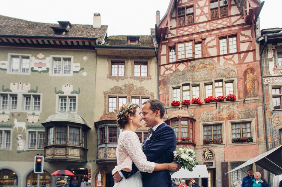 Rhine River Wedding