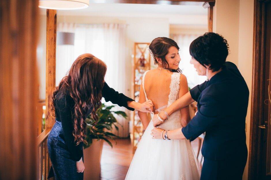 Preparazione sposa Mondovì