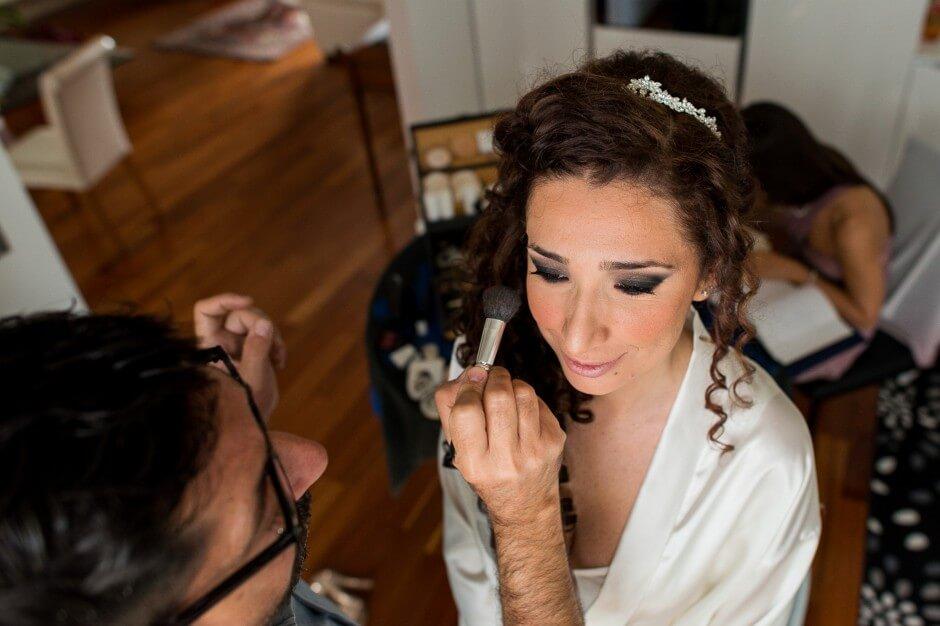 Foto preparazioni sposa