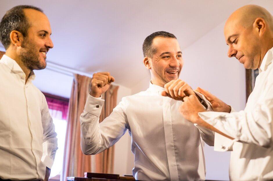 Preparazioni fotografo matrimonio