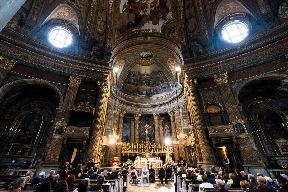 Duomo di Carignano matrimonio