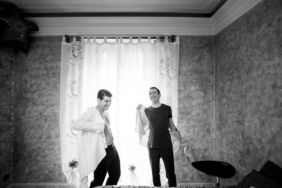 Fotografo Matrimonio preparazioni Torino