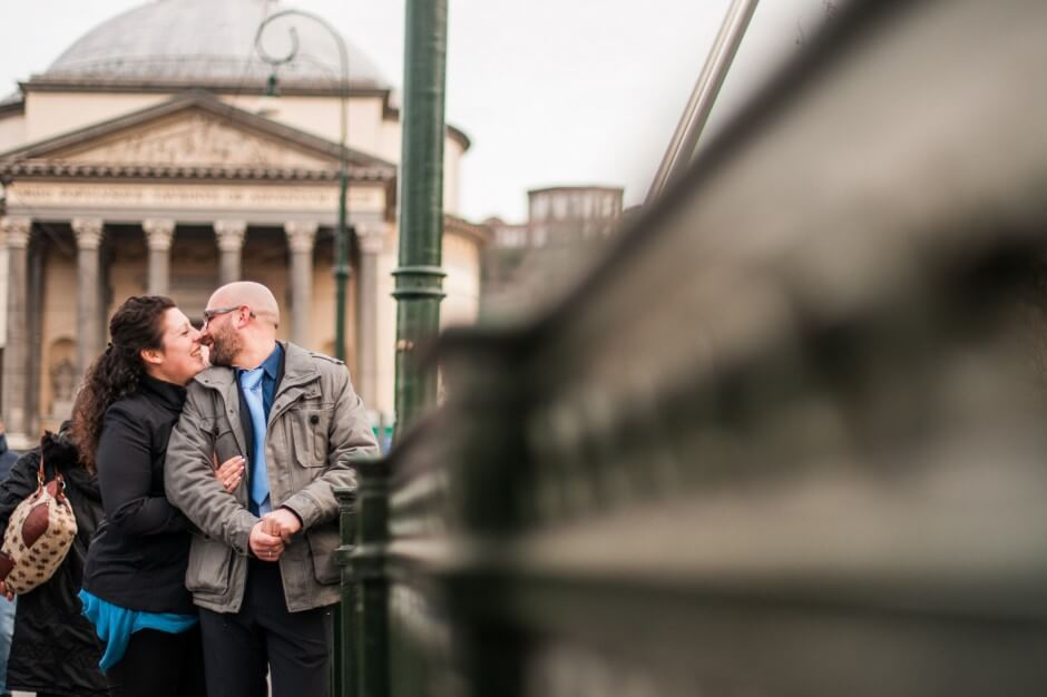 Foto engagement prematrimoniale Torino