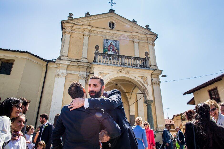 Foto sposo matrimonio Sangano