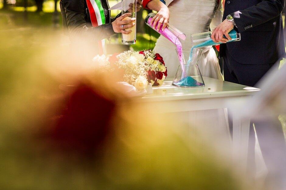 Matrimonio all'aperto Castello Solaro