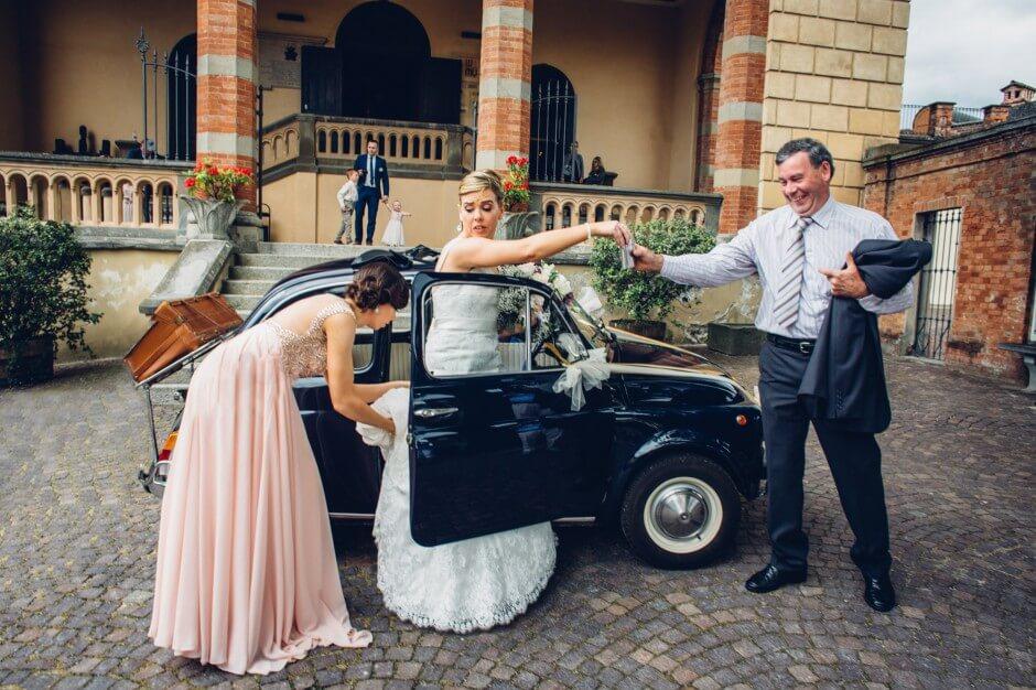 Barolo castle Langhe wedding