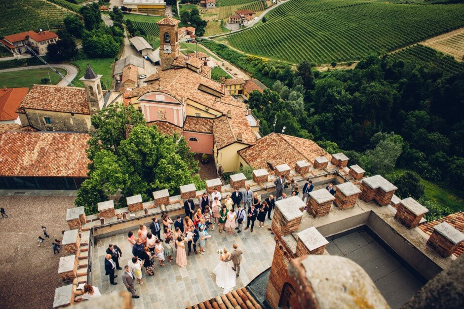 Barolo castle Castello di Barolo