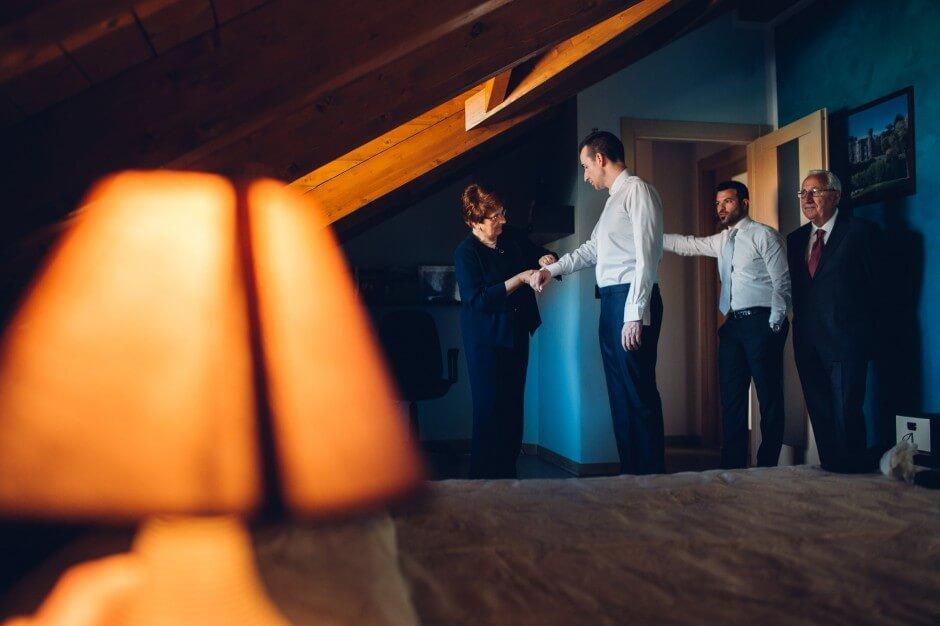 Fotografo matrimonio preparazioni