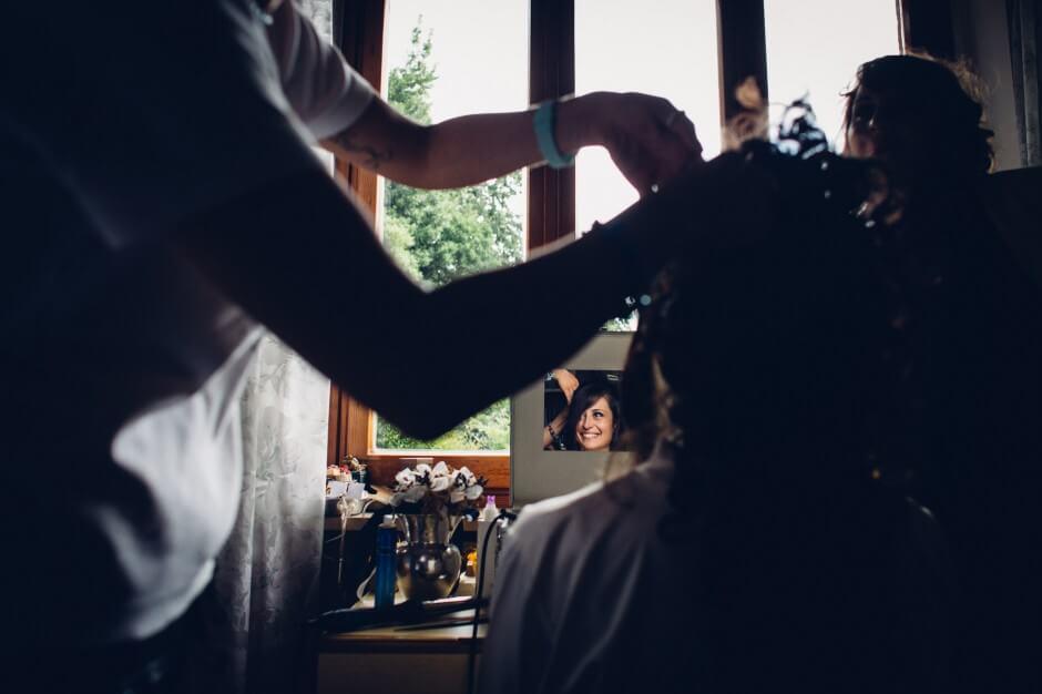 Fotografie Matrimonio preparazioni sposa