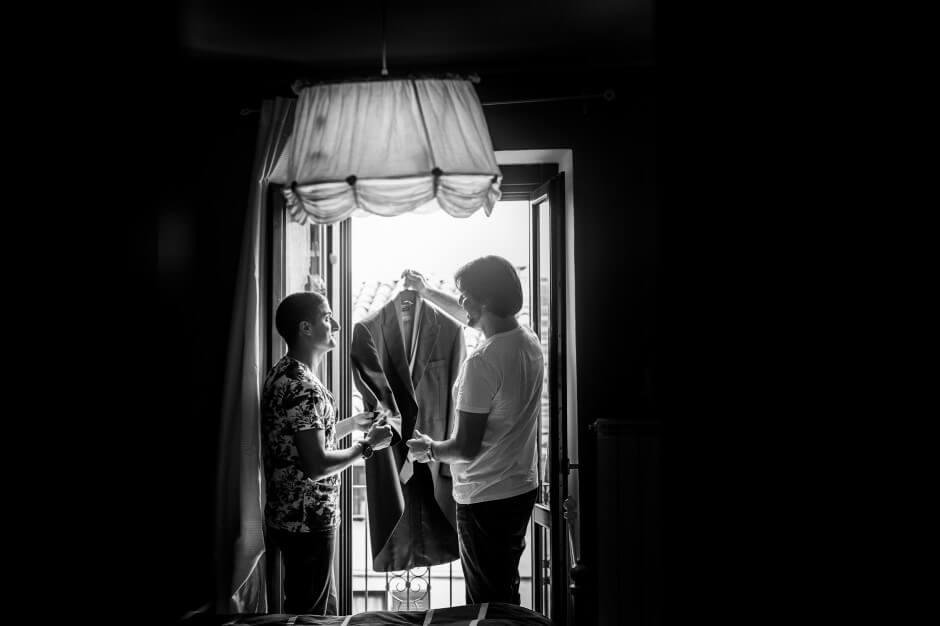 Fotografo matrimoni preparazioni