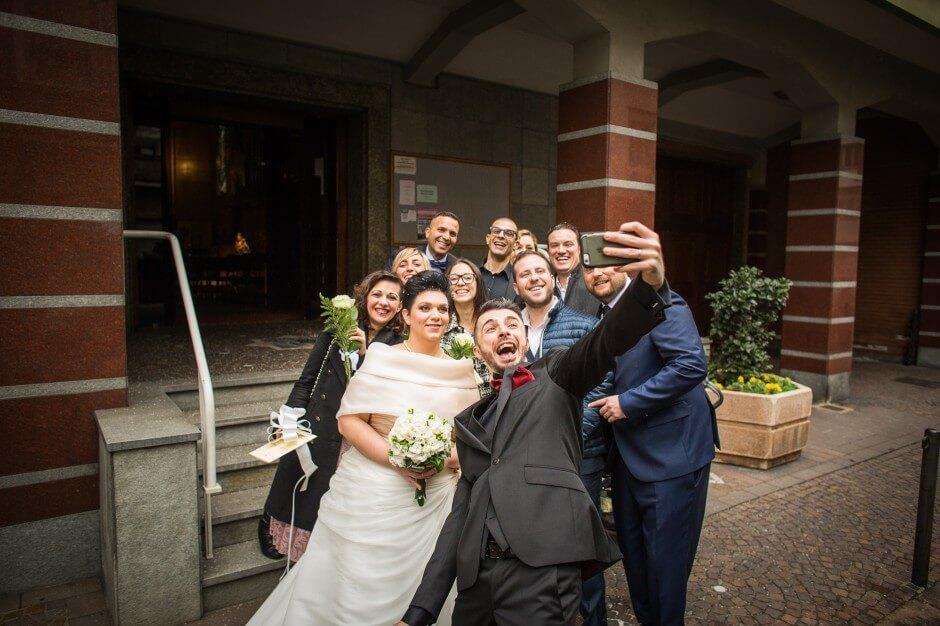 Selfie Matrimonio Torino