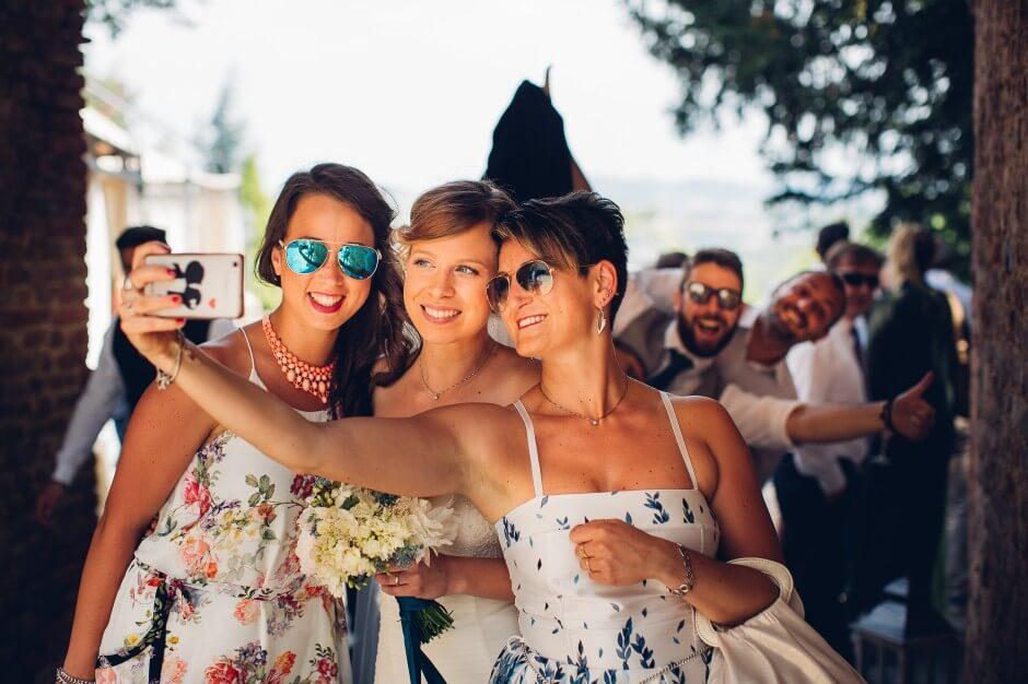 fotografo matrimonio selfie